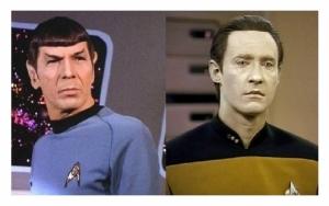 Mr. Spock /// Mr. Data