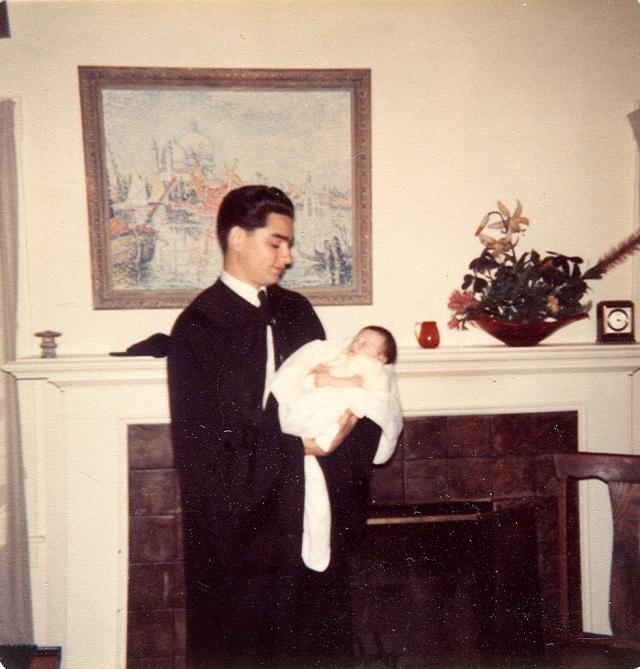 1963 June-Ron Grad UCB Andrea Born